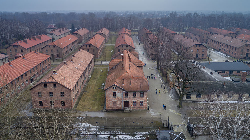 Cracovie Auschwitz Blocs