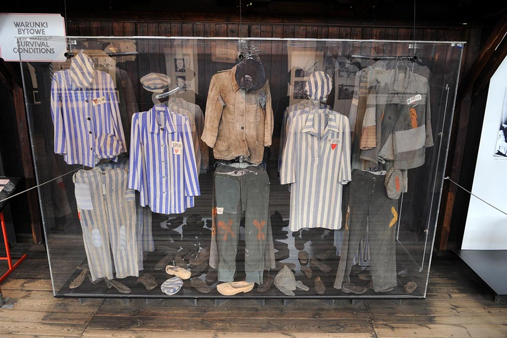 Cracovie Auschwitz Vêtements