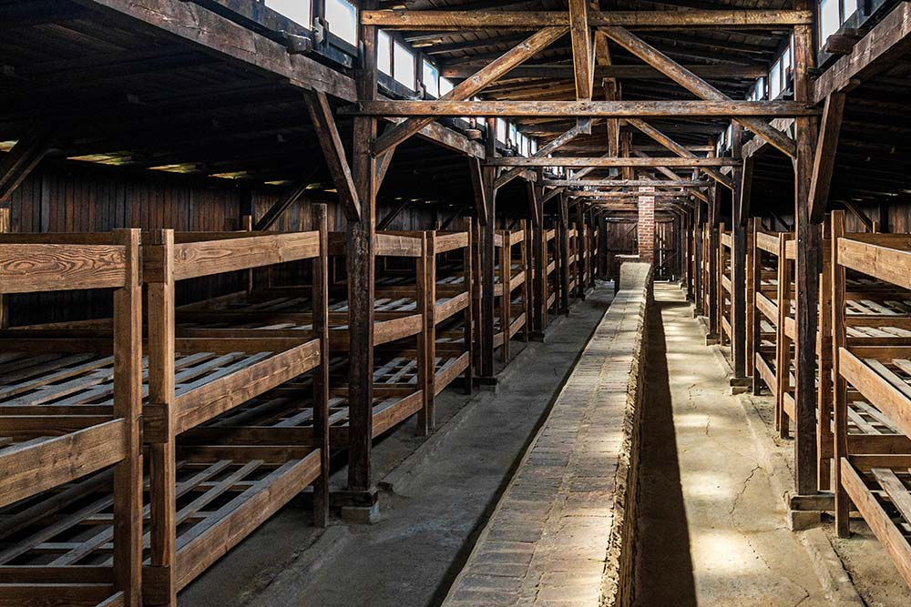 Cracovie Auschwitz Dortoirs