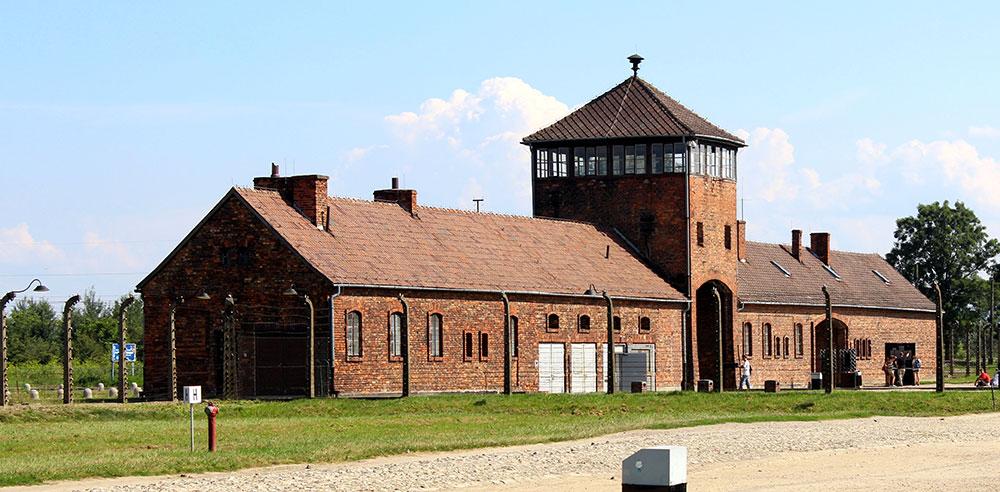 Cracovie Auschwitz Entrée Birkenau
