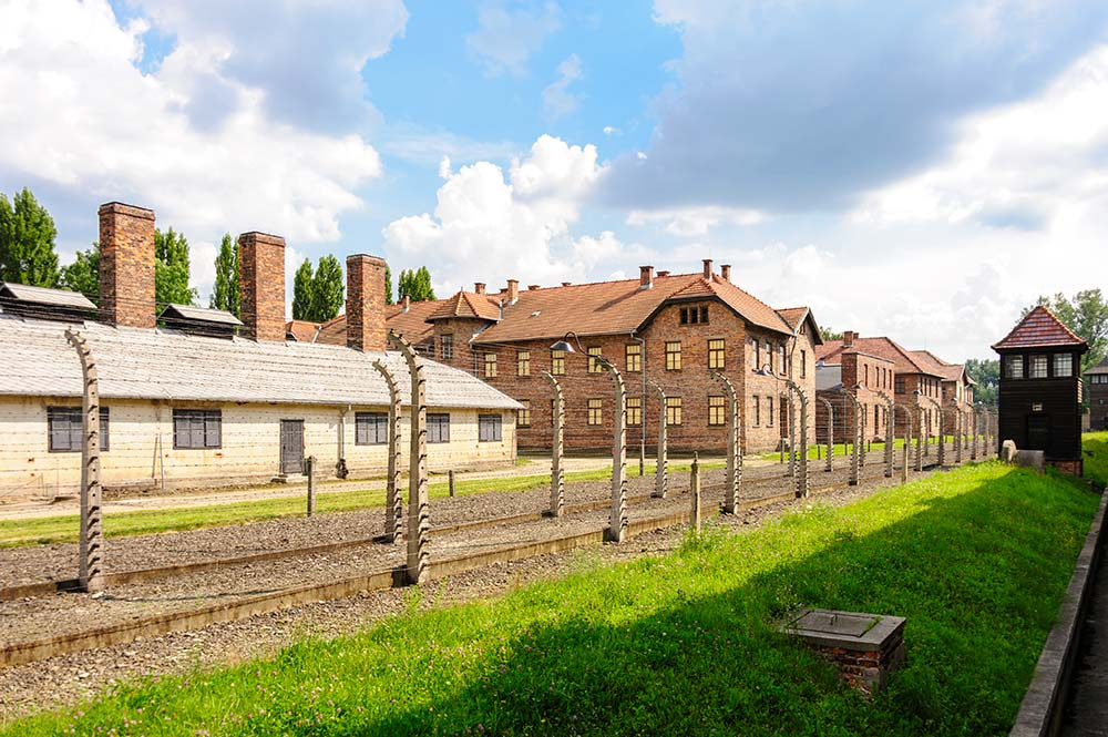 Cracovie Auschwitz Bâtiments