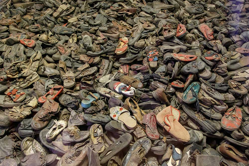 Cracovie Auschwitz Chaussures