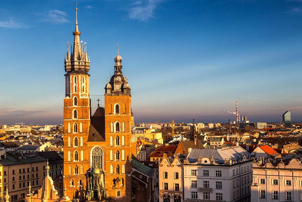Cracovie Basilique Tours