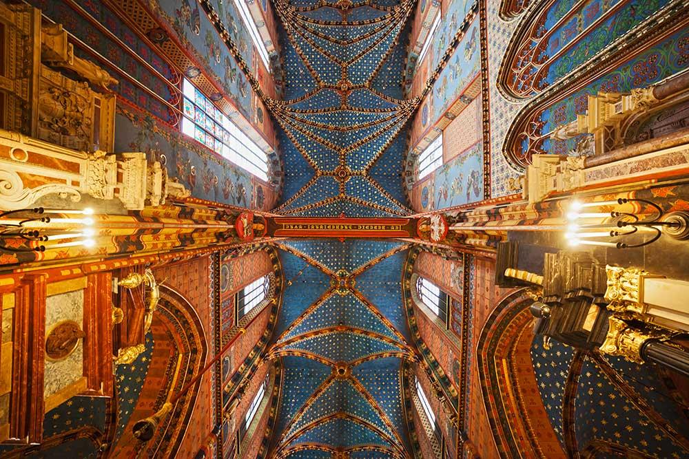 Cracovie Basilique Décoration