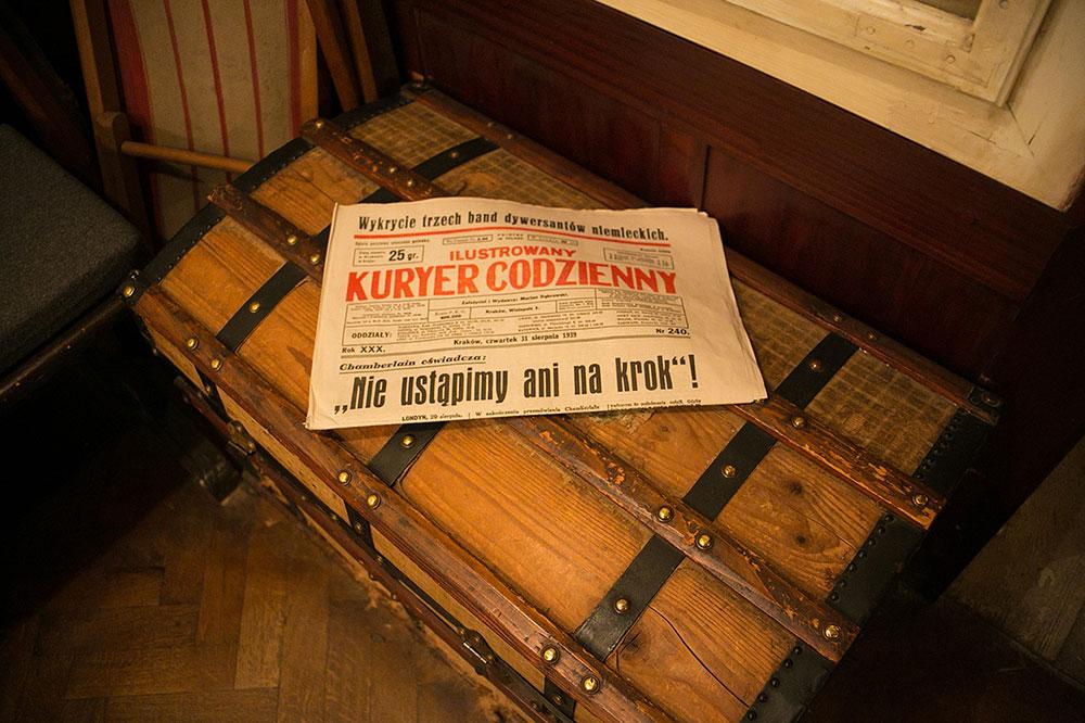 Cracovie Usine Schindler Journal