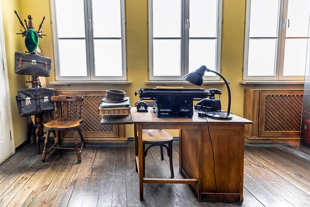 Cracovie Usine Schindler Bureau