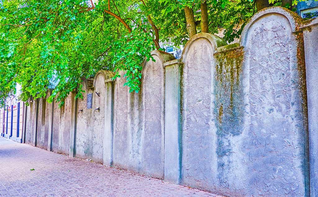 Cracovie Mur Ghetto