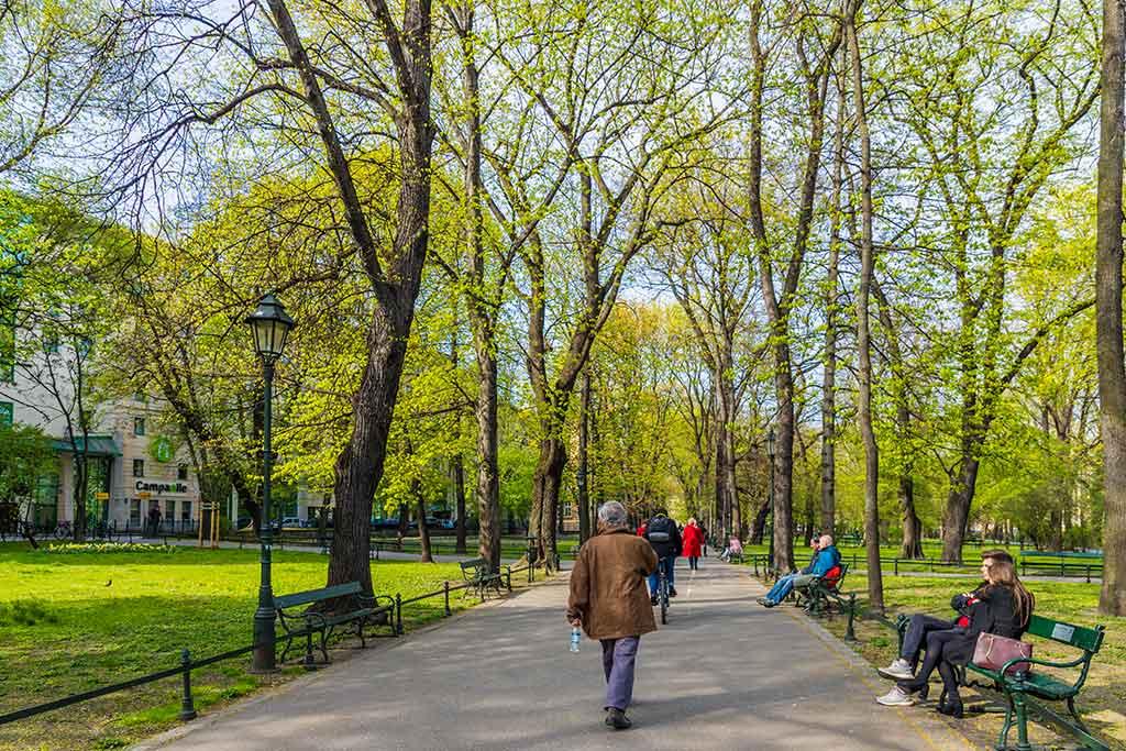 Cracovie Parc Planty