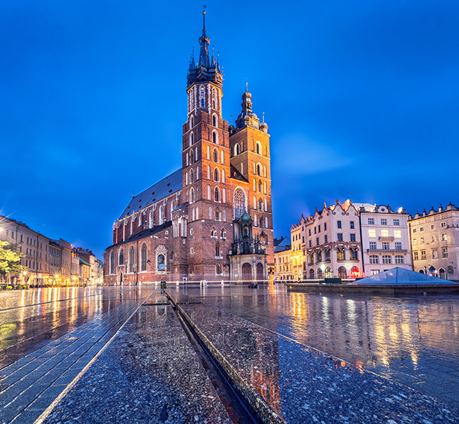 Basilique Ste Marie Cracovie
