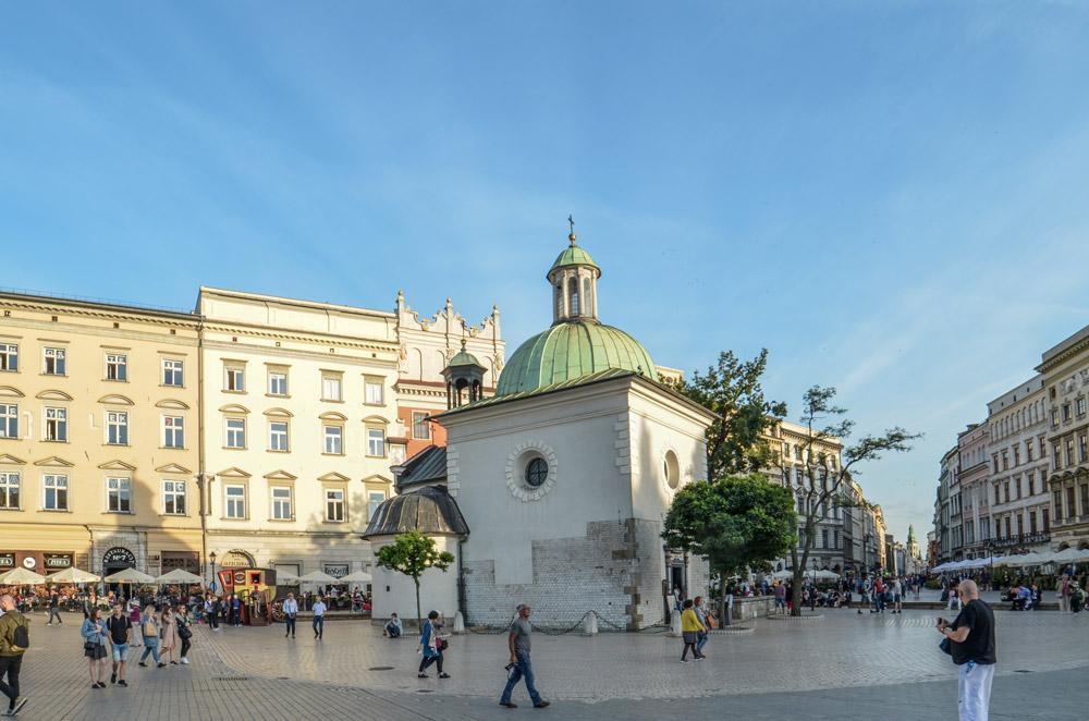 Eglise St-Adalbert Cracovie