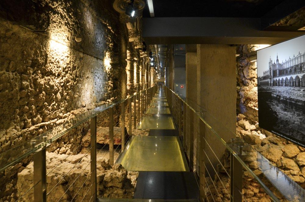 Rynek souterrain Cracovie