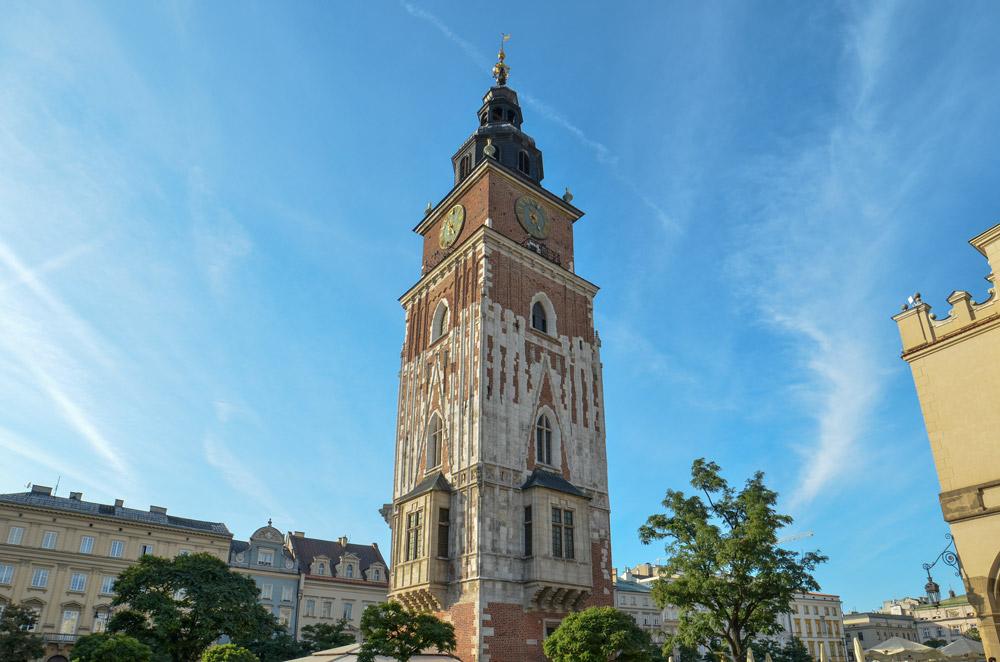 Tour Hôtel de Ville Cracovie